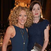 Kelly Hoppen and Amanda Berry