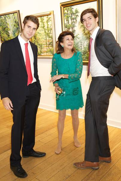 Harry Jr, Sarah and Christopher Holcroft