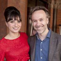 Gizzi Erskine and Marcus Wareing