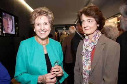 Dame Norma Major and Lorne Roper Caldbeck