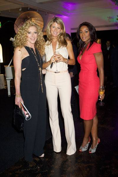 Kelly Hoppen, Natalie Livingstone and Phoebe Vela