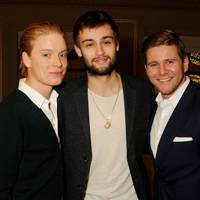 Freddie Fox, Douglas Booth and Allen Leech