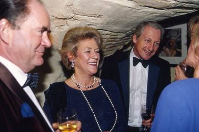 George Docker, Mrs Philip Henstock and Barry Dinan