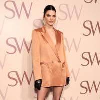 Kendal Jenner attends the Stuart Weitzman celebration