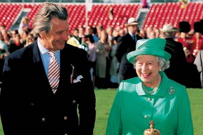 Arnaud Bamberger and The Queen