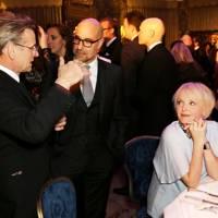 Mikhail Baryshnikov, Stanley Tucci and Miranda Richardson