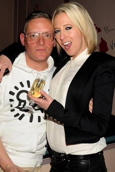 Giles Deacon and Sophia Hesketh