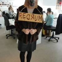 Celia Thursfield as Red Rum