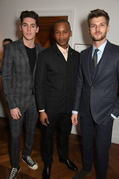 Isaac Carew, Eric Underwood and Jim Chapman