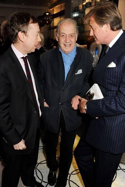 Geordie Greig, Sir John Standing and Robin Hurlstone