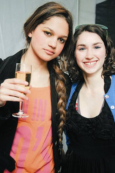 Imogen Wood and Christina Lumsden