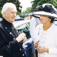 John Cawston and Lady Porter