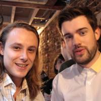 Jack Whitehall and Andrew Hancock
