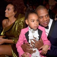 Solange Knowles, Blue Ivy Carter and Jay Z