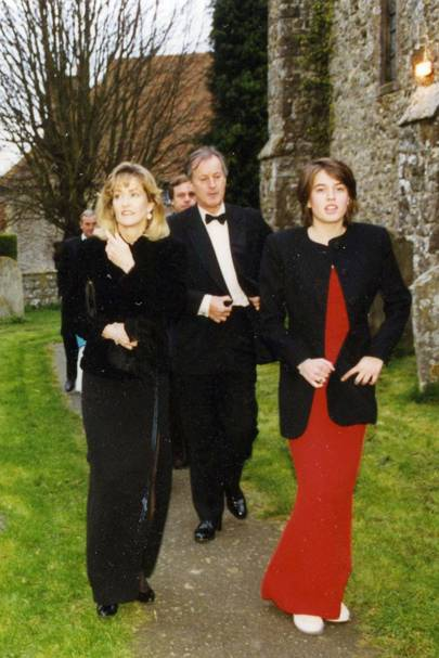 Lady Romsey, Lord Romsey and the Hon Alexandra Knatchbull