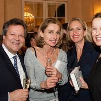 Nigel Fenner-Fownes, Daisy Waugh, Imogen Edwards-Jones andand Sarah Cairns