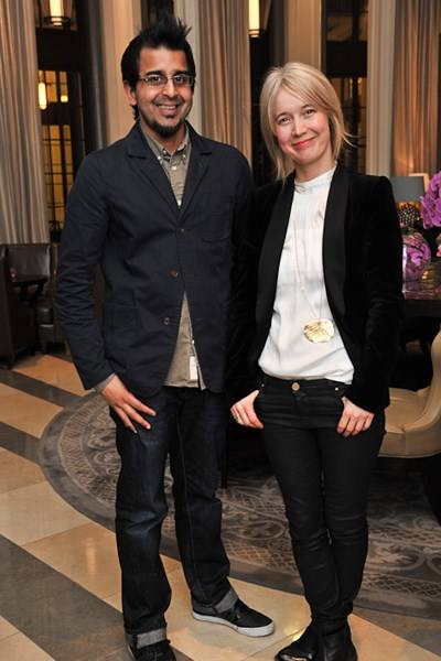 Madani Younis and Justine Simons