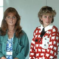 Sarah, the Duchess of York and Diana, Princess of Wales
