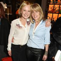 Mariella Frostrup and Rachel Johnson