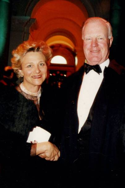 Vivien Duffield and Sir Jocelyn Stevens