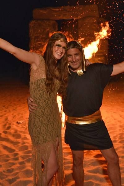 Zelika Garcia and Moises Micha