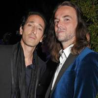 Adrien Brody and Jason McNab