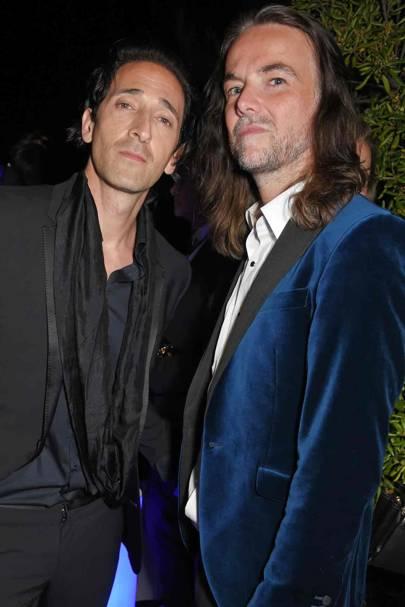 Adrien Brody and Jason McNab