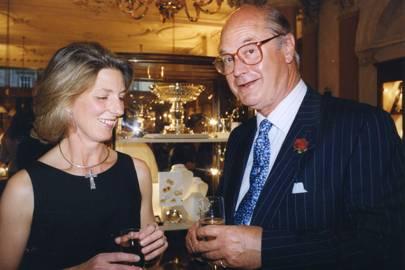 Mrs Denzil Skinner and Gavin Reed