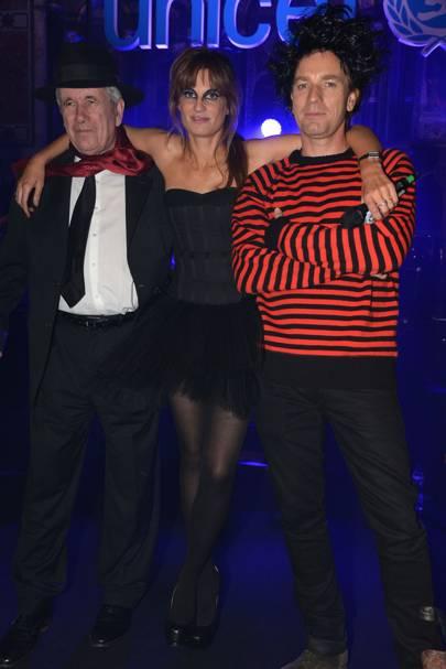 Martin Bell, Jemima Khan and Ewan McGregor