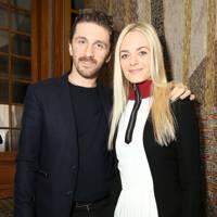 David Koma and Virginie Cortin-Clarins