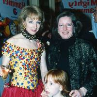 Lady Arnold, Mrs Peter Gummer and Emily Arnold