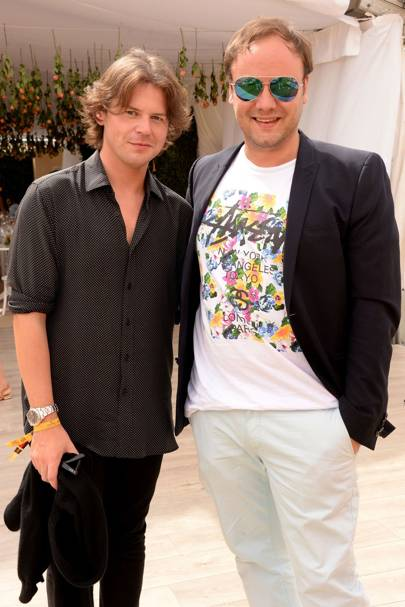 Christopher Kane and Nicholas Kirkwood