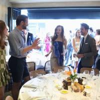 Angela Scanlon, Patrick Grant, Olivia Grant and Diego Bivero-Volpe
