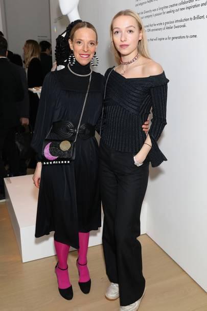 Tiphaine de Lussy and Agathe Chapman