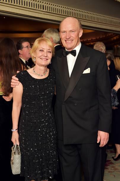 Rachel Hood and John Gosden
