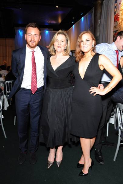 Francis Boulle, Karina Cox and Lily Boulle