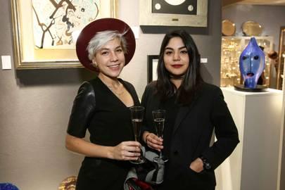 Laura De Sommar and Innes Montoya