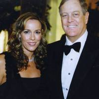 Mrs David Koch and David Koch