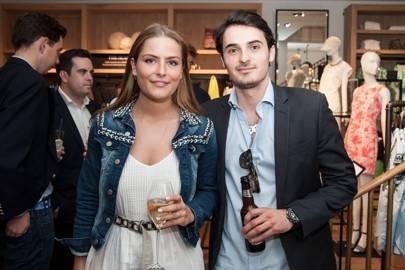 Philippa Cadogan and Jojo Regan