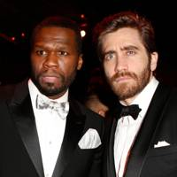 Curtis Jackson and Jake Gyllenhaal