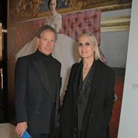 The Earl of Snowdon and Maria Grazia Chiuri