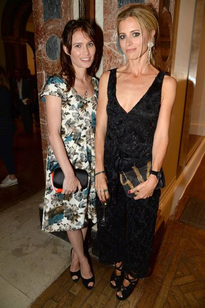 Sheherazade Goldsmith and Laura Bailey