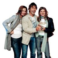 Trinny Woodall, Pat Cash and Susannah Constantine