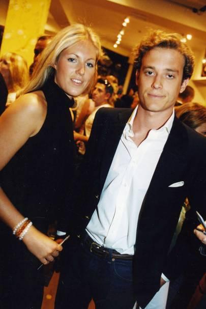 Marina Hunt and Count Riccardo Lanza