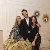 Lauren Santo Domingo, Derek Blasberg and Dame Natalie Massenet