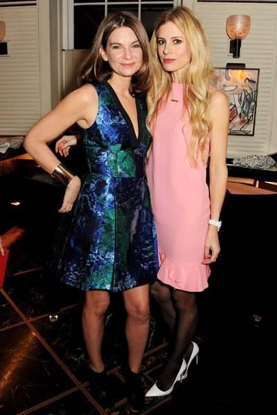 Natalie Massenet and Laura Bailey