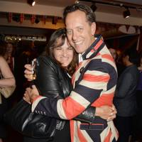 Tracey Emin and Richard E. Grant