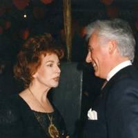 Edna O'Brien and John Danilovich