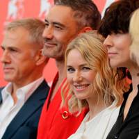 Christoph Waltz, Taika Waititi, Naomi Watts and Malgorzata Szumowska at the Jury photocall