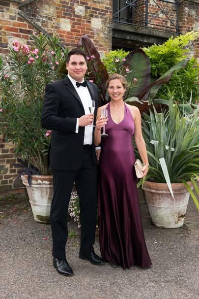 Philip Jones and Nikki Barrington